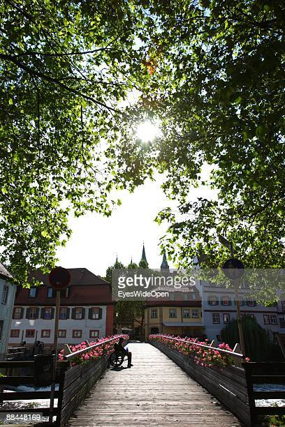 Old town on June 11 2009 in Bamberg Germany Bamberg is listed as a World Heritage by UNESCO