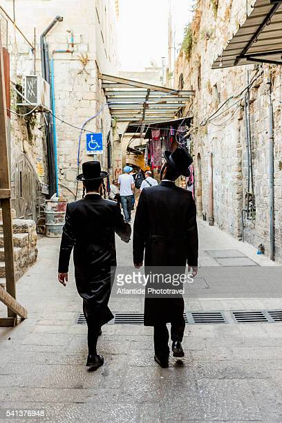 Old Town, Orthodox Jews in the bazaar
