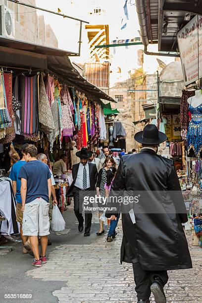 Old Town, Orthodox Jews in the bazar