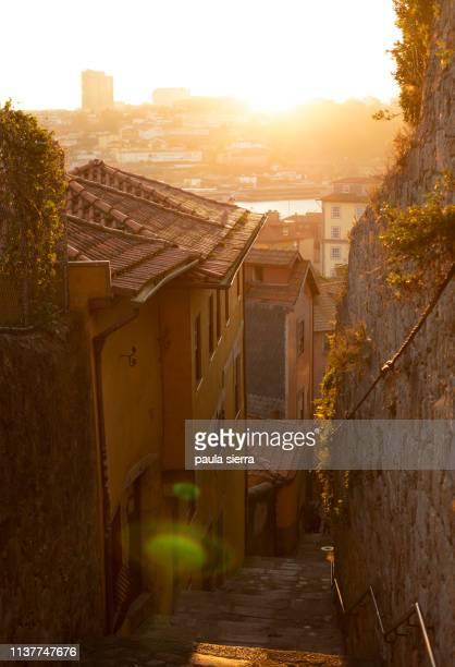 old town - oporto portogallo foto e immagini stock