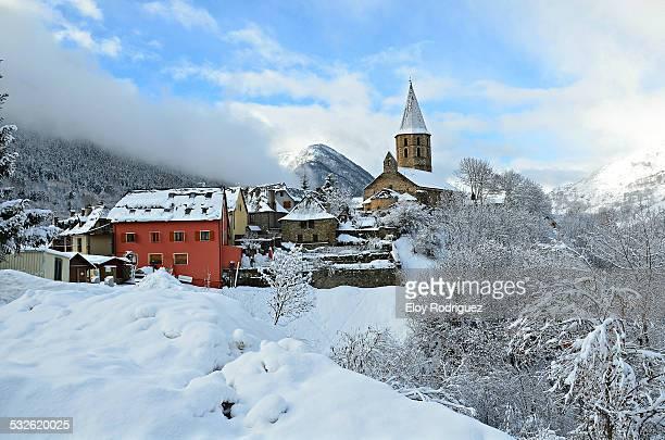 old town - provinz lerida stock-fotos und bilder