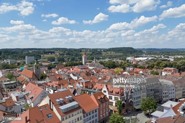 old town, ravensburg, baden-wuerttemberg, germany - ravensburg stock-fotos und bilder