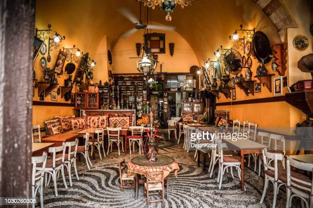 Old Town, Rhodes, Greece - Mevlana, The oldest coffee bar in Europe