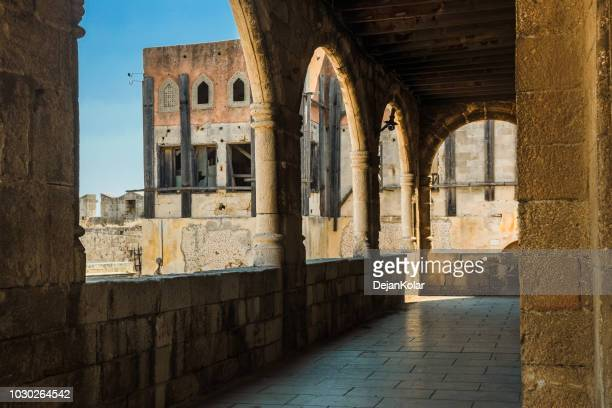 Old Town, Rhodes, Greece - Steps and arches