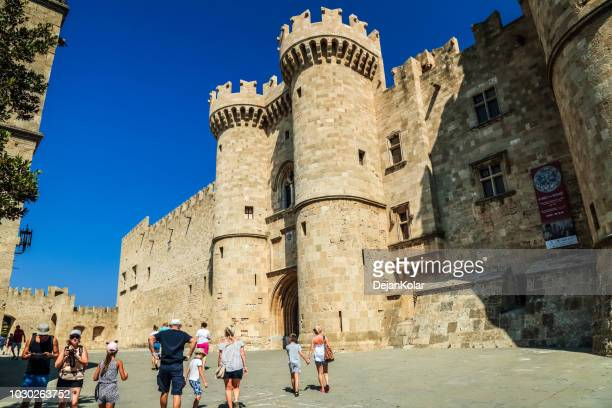Old Town, Rhodes, Greece - The Palace of the Grand Master of the Knights of Rhodes