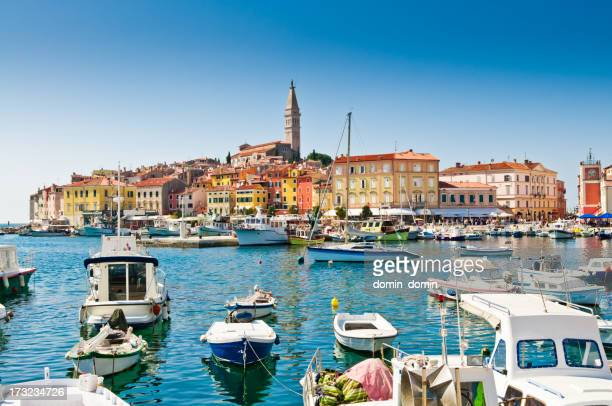 Old town, Rovinj Harbor, Croatia
