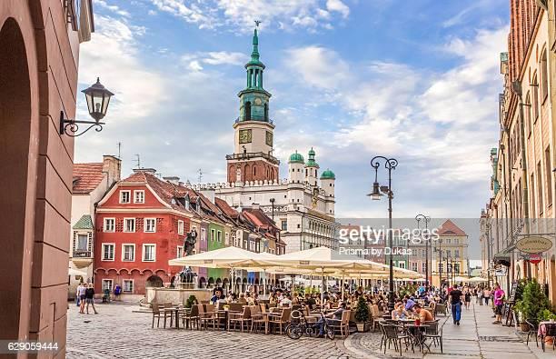 Old Town Square in Poznan City