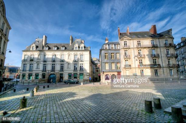 Old Town Square in Rennes, France