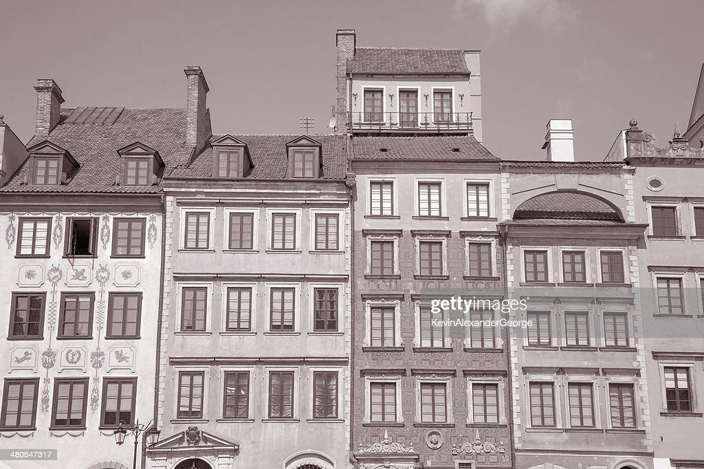 Old Town Square, Warsaw, Poland : Stock Photo