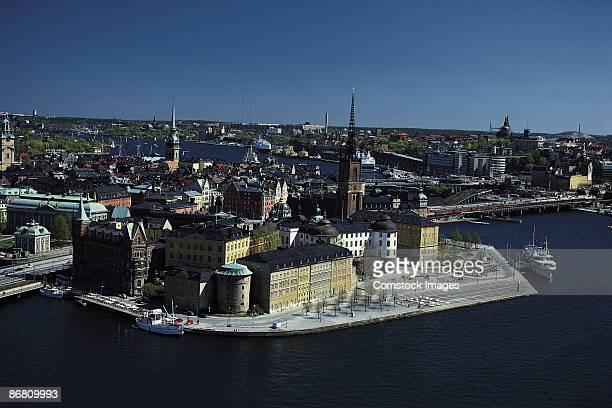 old town , stockholm , sweden - ストックホルム県 ストックフォトと画像