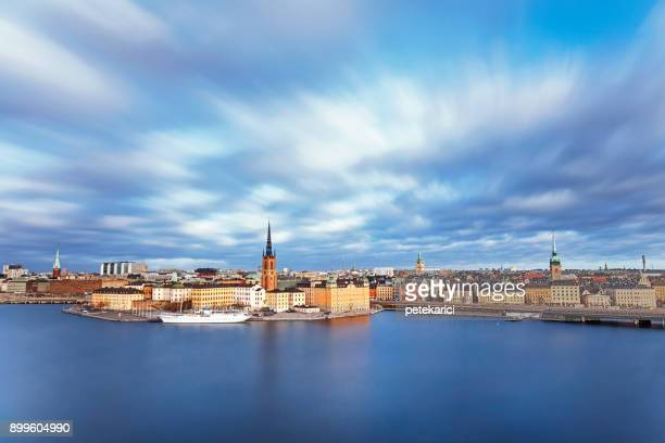 gamla stan, stockholm, sweden - stockholm stock pictures, royalty-free photos & images