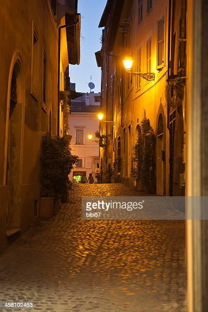 Città vecchia strada di Roma