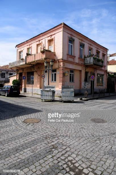 old town street of batumi, georgia - feifei cui paoluzzo stock pictures, royalty-free photos & images