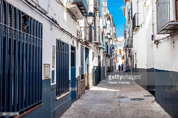 Les rues de la vieille ville. Onda, Espagne.