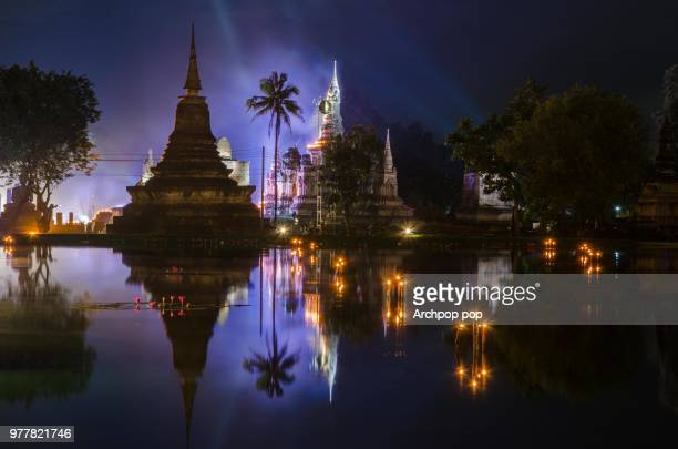 old town sukhothai - burmese cat stock pictures, royalty-free photos & images