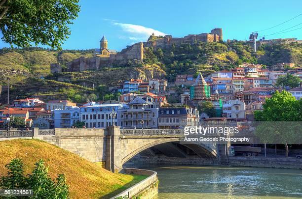 old town tbilisi - トビリシ ストックフォトと画像
