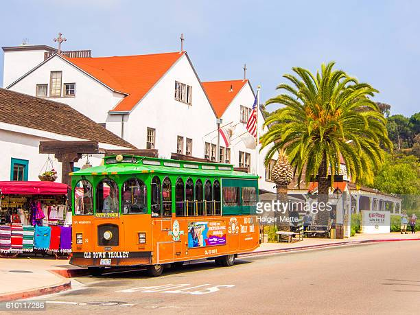Old Town Trolley in San Diego, USA