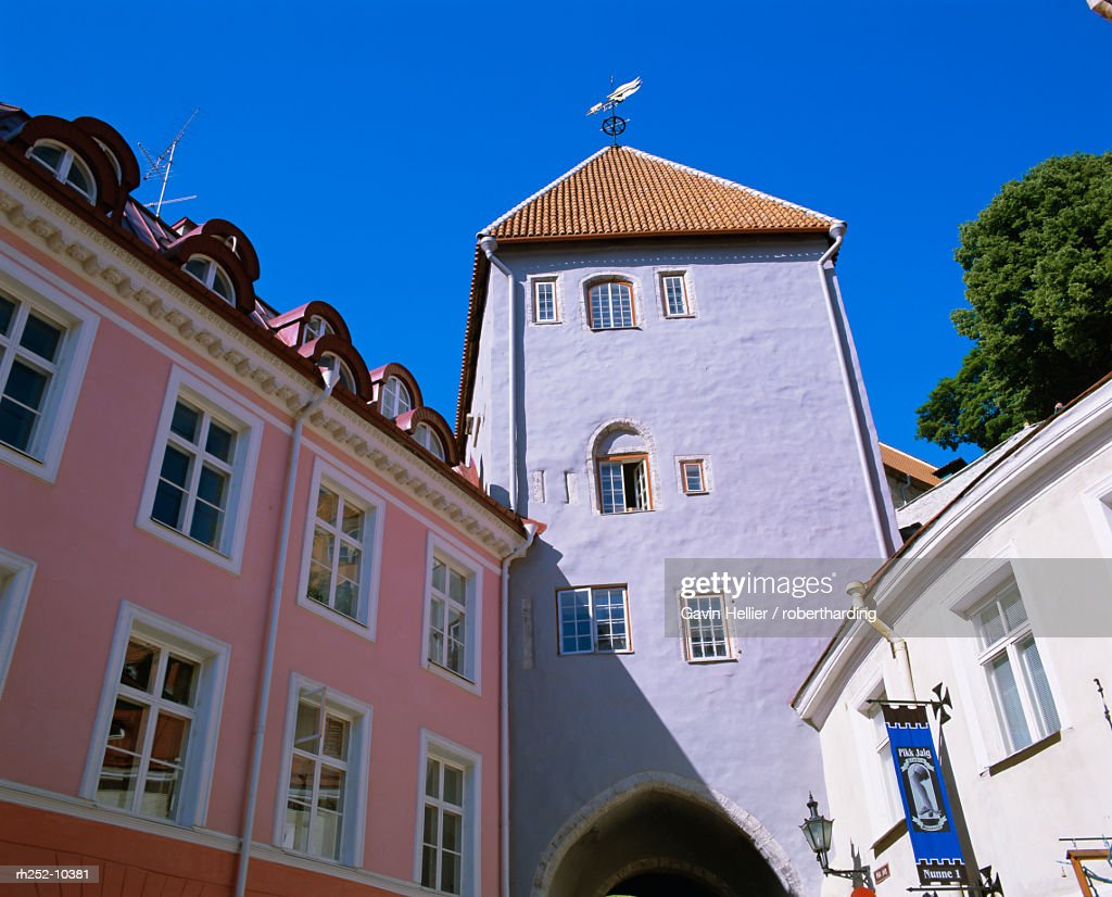 Old Town, UNESCO World Heritage site, Tallinn, Estonia, Baltic States, Europe : Foto de stock