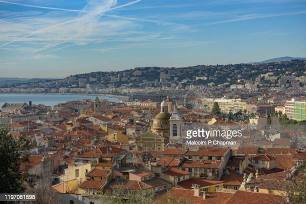 old town, vieille ville, nice, france - france stock pictures, royalty-free photos & images