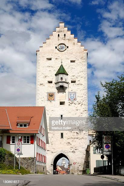 old towngate, ravensburg, baden wuerttemberg, germany, europe. - ravensburg stock-fotos und bilder