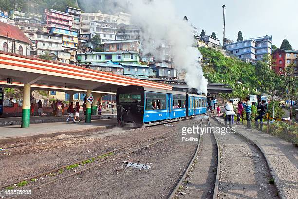 Old Toy Train in Darjeeling, West Bengal, North India