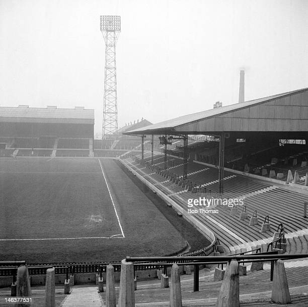 Old Trafford Football Ground home of Manchester United circa 1964