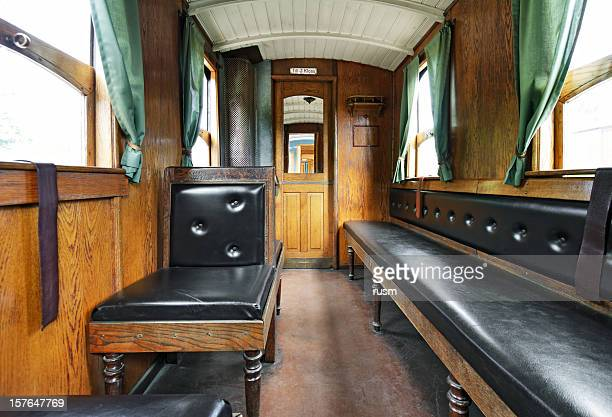 old train interior - railroad car stock pictures, royalty-free photos & images