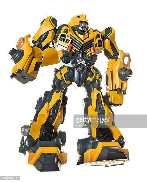 Old Transformer Plastic Toy