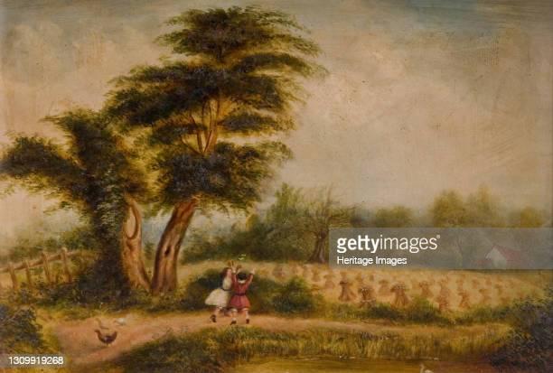 Old Tree at Alum Rock, 1840-1860. Alum Rock, Birmingham. Artist Unknown. .