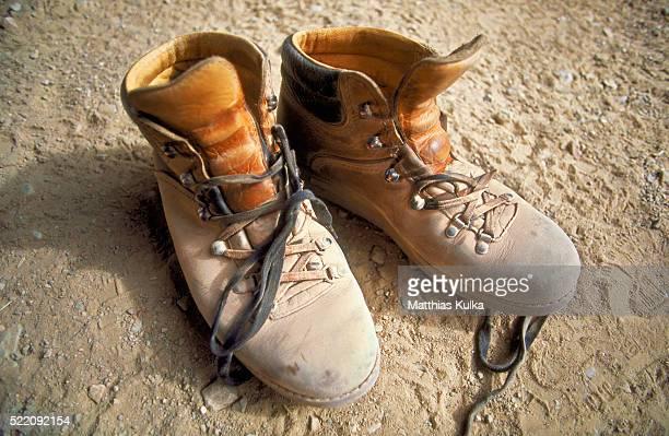 Old Trekking Boots