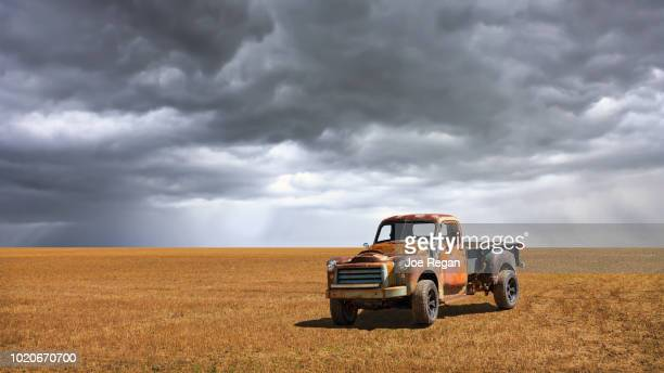 old truck - old truck stock pictures, royalty-free photos & images