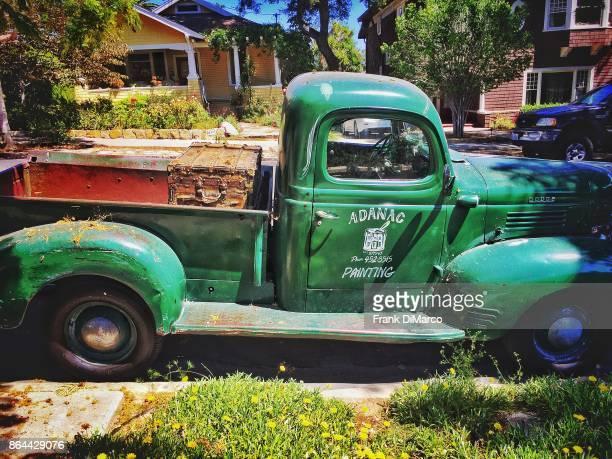 Old Truck, Santa Barbara, California