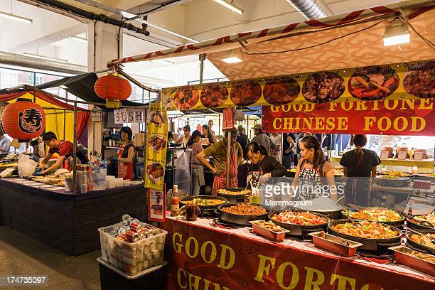 Old Truman Brewery, chinese food stand