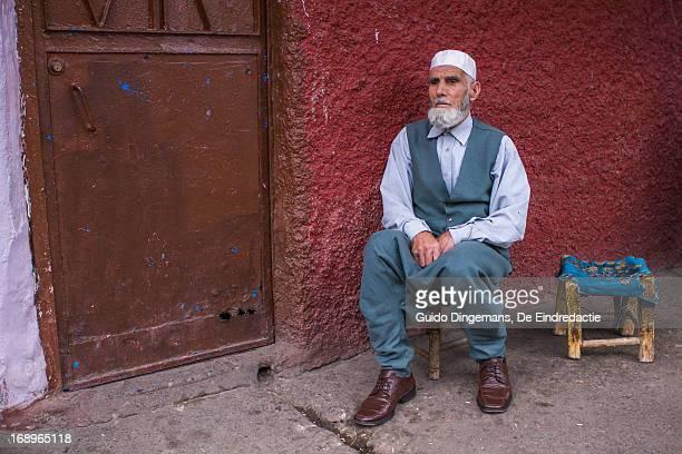 Old Turkish-Kurdish muslim man in Diyarbakir