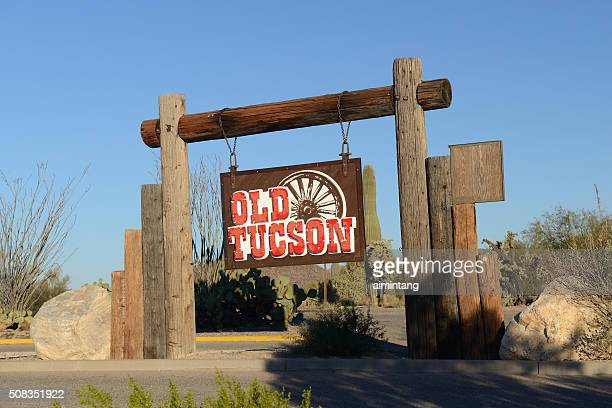 old tuscon - tucson stock pictures, royalty-free photos & images
