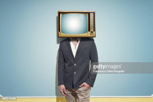 Old Tv head