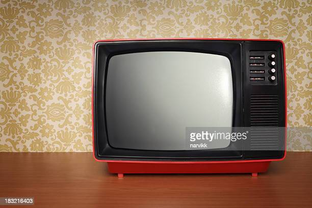 Old TV in Retro Style
