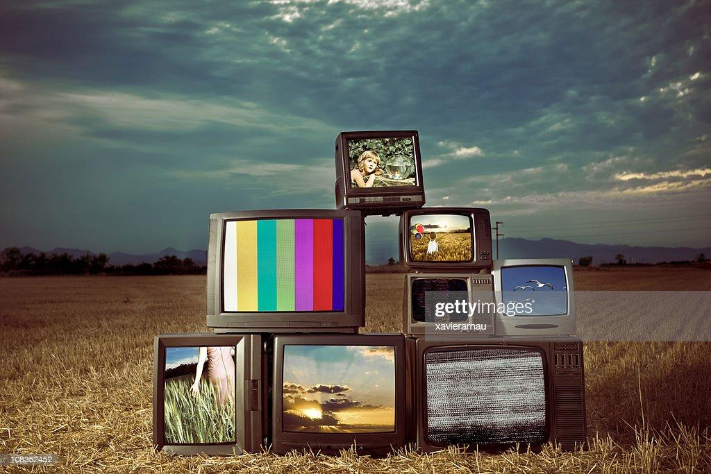 古いテレビ番組 : ストックフォト