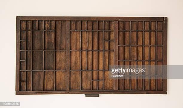 Old Type Drawer