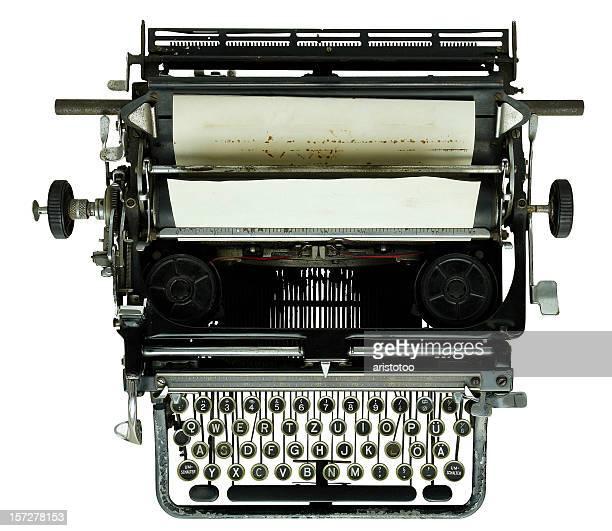 Old Typewriter (+ path)