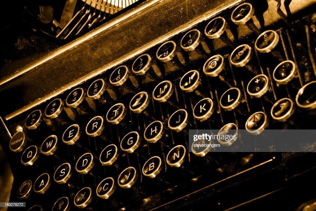 Vecchia macchina da scrivere : Foto stock