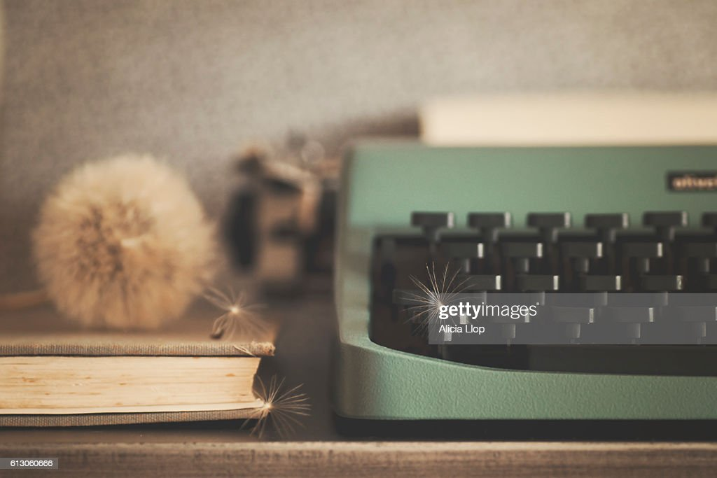 Old typewriter : Stock Photo