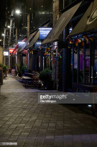 Old Union Yard Arches, a usually busy nightlife spot on Saturdays seen shut due to the Covid-19 Lockdown on March 28, 2020 in London, England....