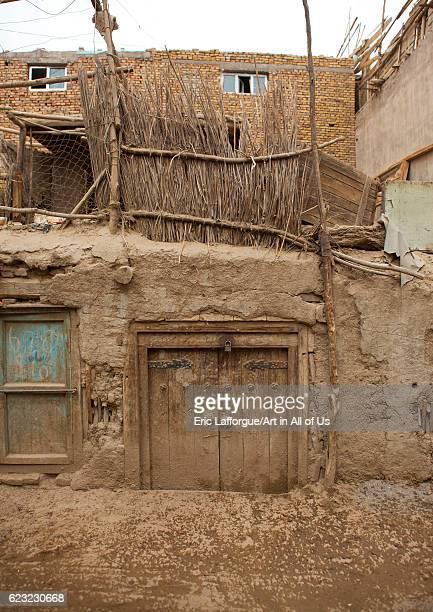 Old Uyghur mud house in Keriya Old town Xinjiang Uyghur Autonomous Region China on September 17 2012 in Keriya China
