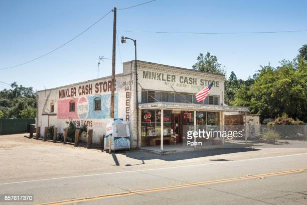 Old variety convenience store in California USA