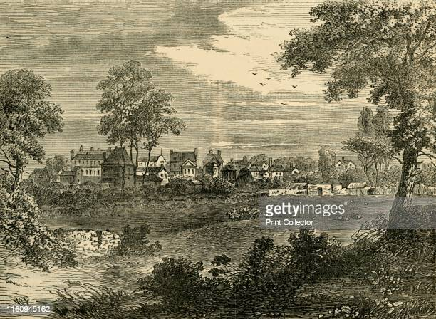 Old View of Kensington about 1750' Kensington was a suburb of London and birthplace of Queen Victoria with conveyancing of property passing between...
