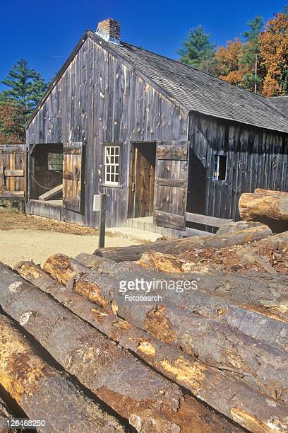 old village - sturbridge stock photos and pictures