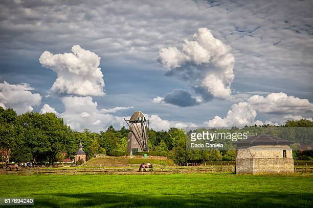 old village - ardennes department france stock photos and pictures