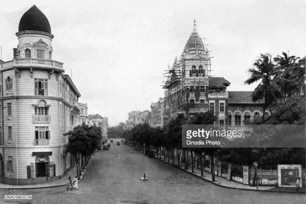 Old vintage photo of lamington road, Mumbai, maharashtra, India