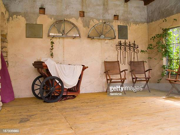 Alte vintage Zimmer